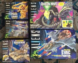 Kenner Aliens Playset Collection 5 Queen Hive, Evac Fighter, Hovertread Etc