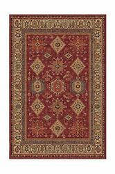 Machine Washable Area Rug - Founderand039s Farmhouse 6and039x9and039 Red / Orange / Beige
