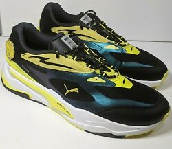 Rs Fast Emoji Sneakers Shoes Black Blue Yellow Menand039s Size 12