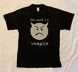 Vintage The Smashing Pumpkins The World Is A Vampire Vintage Shirt 1990s Giant M