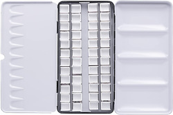 Empty Watercolor Palette Tin,use As A Travel Watercolor Set With Watercolor Pain