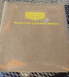 1970 Lincoln Mercury Paint Upholstery Cyclone Spoiler Data Book Dealer Cougar Gt