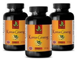 Panax Ginseng Seeds - Korean Ginseng Root Extract 350mg - Energy Levels - 3b