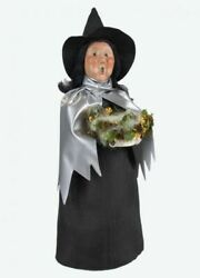 Byers Choice Caroler - Witch With Silver Cape 2021