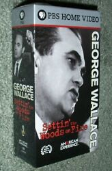 George Wallace Settin' The Woods On Fire Vhs Pbs Home Video