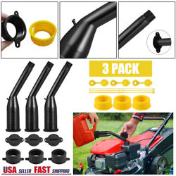 3pc Upgrade Gas Can Replacement Spout Kit,pour Nozzle With Gasket,for Water Jugs