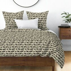 Angus Cow Farm Animal Livestock Cattle Calf Cows Sateen Duvet Cover By Roostery