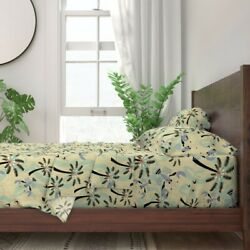 Lobster Tropical Beach Retro Lobsters 100 Cotton Sateen Sheet Set By Roostery