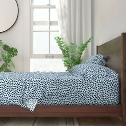 Watercolor Dots Watercolor Polka Dot 100 Cotton Sateen Sheet Set By Roostery