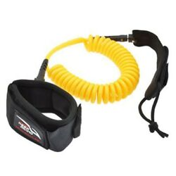 Keep Diving 10 Feet Coiled Surfboard Leash Surfing Stand Up Paddle Board Ankle
