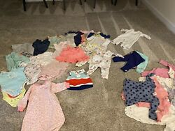 Girls some unisex 3 month and 3 6 month clothes over 50 Items $18.00