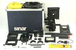 【near Mint+++ With Trunk】 Sinar P2 4x5 View Camera Nikkor 150mm F/5.6 From Japan
