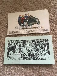 Vintage Terry And The Pirates Quaker Oats Sparkies Jingle Contest Postcard + Adv