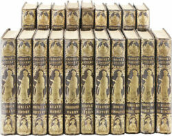 Goodrich - Complete Set Of Parleyand039s Cabinet Library 1849/1856 Vg
