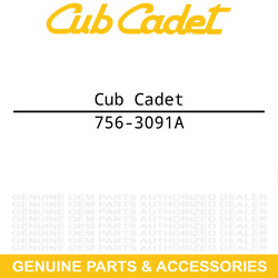 Cub Cadet 756-3091a Inner/outer Pulley Gt 3240 3235 3225 3208 3206 3205 3204