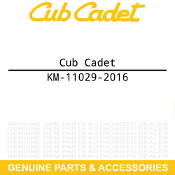 Cub Cadet Km-11029-2016 Air Filter Assembly 2086 3205 3208 Tractor Km-11029-2005