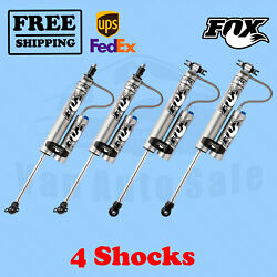 Fox Shocks Kit 4 Front 2-3.5 And Rear 2-3 Lift For Jeep Cherokee Xj 1984-2001