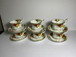 6 Royal Albert Old Country Roses Tea Cups And Saucers 14 Sets Available