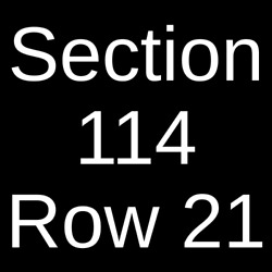 4 Tickets Red Hot Chili Peppers The Strokes And Thundercat 8/17/22