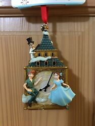 New Disney Store Sketchbook Ornament Peter Pan And The Darling Children 2020