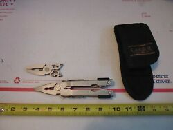 Gerber 650 Multitool With Nylon Pouch Needle Nose And Bluntnose Heads