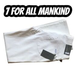 New 7 For All Mankind Kimmie Bootcut Jeans Andnbspwhite Size 30