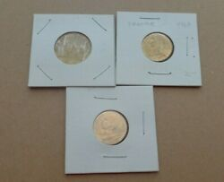 France Coins French 10/20 Centimes - 1963/1967/1983 - 3 Coins