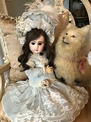 Antique French Tete Jumeau Depose Bebe Doll Closed Mouth Beautiful