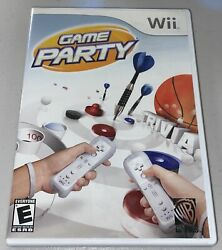 Game Party for Nintendo Wii 2007 COMPLETE $9.99