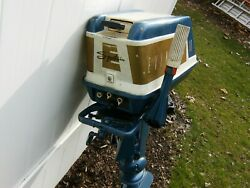 1959 Evinrude Sportwin 10hp Outboard Motor For Parts Or Repair