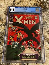 X-men 24 Cgc 9.6 Rare White Pages 1st Appearance Of Locust Super Rare High End