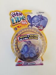 Rare Little Live Pets S1 Lil Mouse Staria Electronic Pet 2014.only One 4 Sale