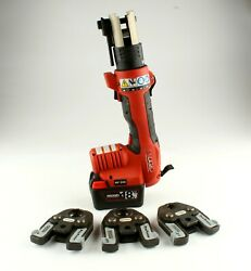 """Ridgid Rp 200 Compact Press Tool With 3 Jaws 1/2"""", 3/4, 1"""