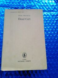 Rare Collection Of Dick Francis Proof / Uncorrected Proofs -inc Signed Dead Cert