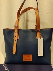 NWT Dooney and Bourke Small Hanna in Marine Blue $110.00