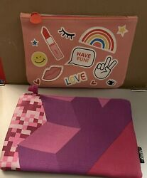 Ispy Cosmetic Bags Lot Of 2 $8.90