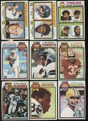 1979 Topps Exmt Football Complete Set 528 Cards Mid Grade 67740
