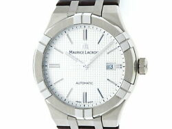 Maurice Lacroix Icon Aa35s Used Watch Automatic Menand039s Excellent Condition