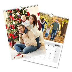 Personalised Calendar A3 2022 Photo Wall Calendars Upload 12 Image + Cover