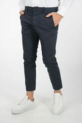 Dsquared2 Men Trousers Pants Low Rise Chino Blue 50 Italy Size