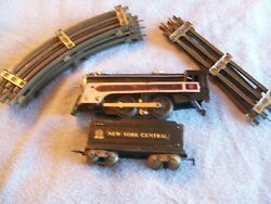 Marlines Locomotive And Nyc Tender 12 Pices Of Marx Track