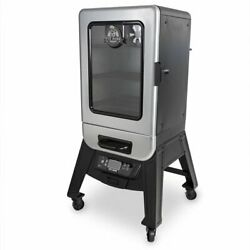 Pit Boss Silver Star, 2 Series Digital Electric Smoker Double-walled Insulation