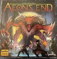 Aeonand039s End 2nd Edition Board Game Indie Boards And Cards Kevin Riley