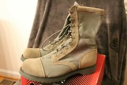New Corcoran Men's 10 Sage Green Marauder Boots Size 14 D 87146 - Made In Usa