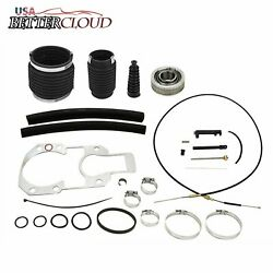 Shift Cable+transom Bearing Bellow 30-803097t1 For Mercruiser Alpha One Gen 1