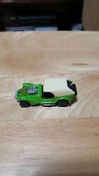 Hot wheels Ice T Lime Green 1969 . Black wall tires. Free Shipping.