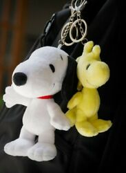 ⚡exclusive⚡ Peanuts Plush Woodstock Keychain Brand New Snoopy 🗝⛓