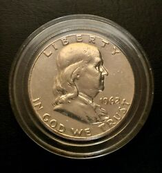 1962 Uncirculated Proof Like Franklin Half Dollar 90 Silver Content Value
