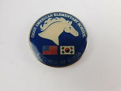 Osan American Elementary School Republic Of South Korea Challenge Coin Dodds
