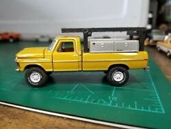 1/64 Scale Custom Trucks 1972 F-250 Explorer With Side Toolboxes And Ladderrack